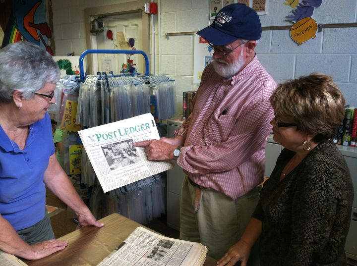 Gerry Treadway Puts Parkesburg on the Map