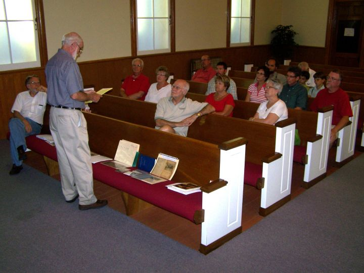 Parkesburg History Group Tours The Old Presbyterian Chapel