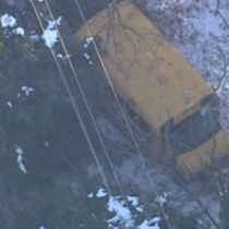 School Bus Accident Severs Power