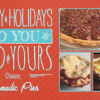 Calendar Alert: 1st Annual Nomadic Pies Holiday Sale