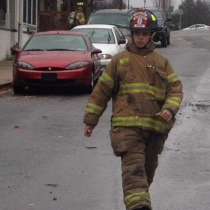 Fire Department's Newest Member Profiled