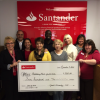 Santander Makes Point Donation