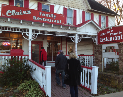Jones' Food Street Journal – Clair's Family Restaurant