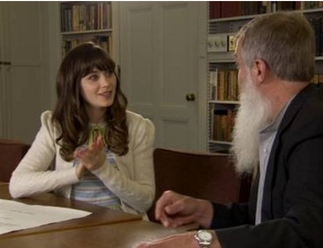 """Actress and musician Zooey Deschanel featured this evening on TLC's """"Who Do You Think You Are?"""""""