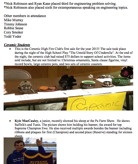 4.11.2014 Principal's Newsletter 4