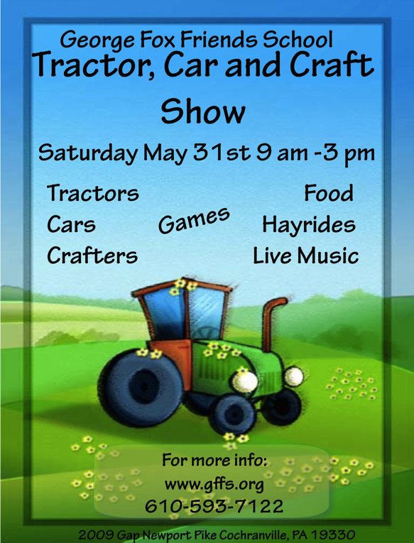 5.24.2014 Tractor Car and Craft Fair