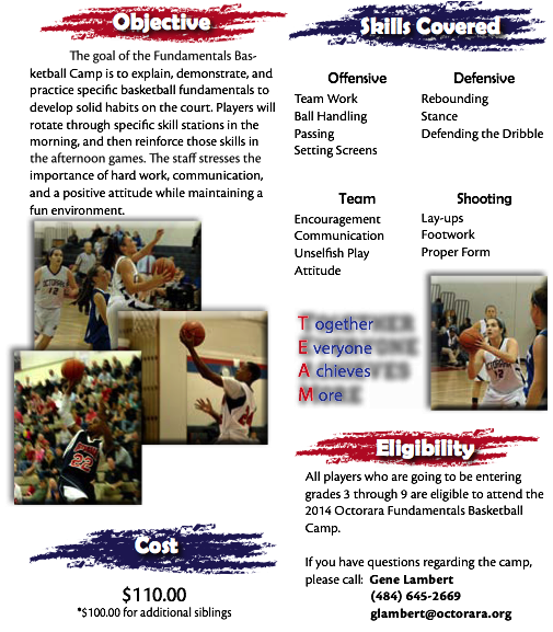 5.3.2014 Lambert Basketball Camp 2