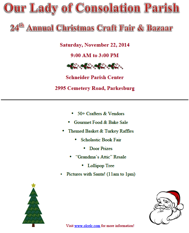 11.6.2014 Craft Fair Flyer 2014a
